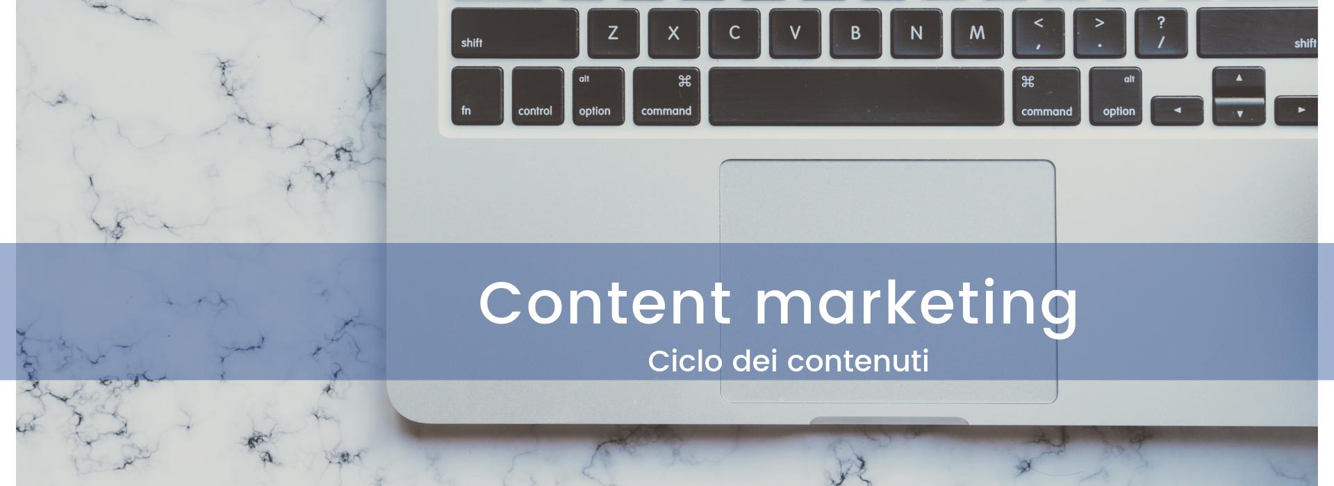 content marketing ciclo dei contenuti