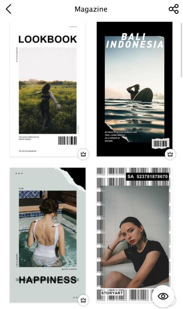 Sara Ferrario Story Art magazine