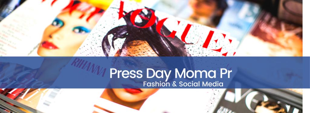 Sara Ferrario Press Day Moma PR