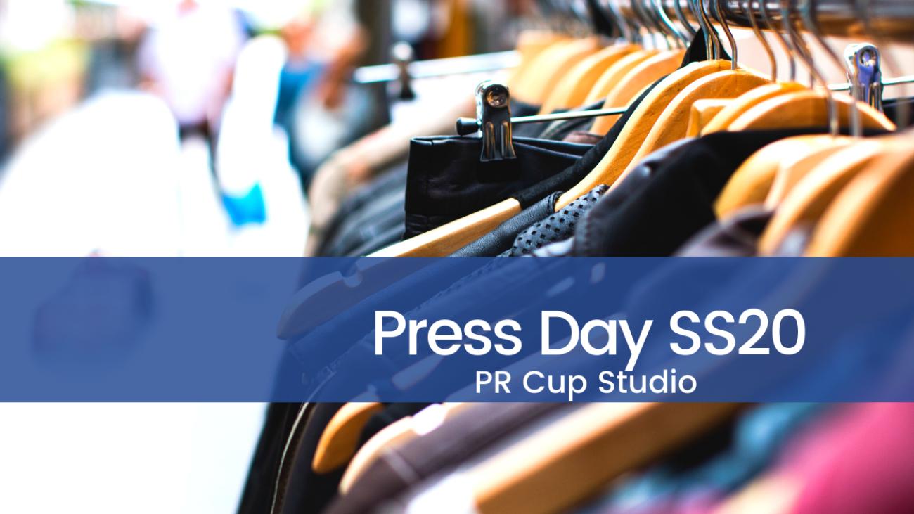 CUP STUDIO: IL PRESS DAY SS20 ECLETTICO E COLORATO